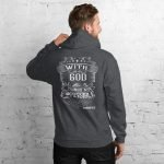 Unisex Hoodie – With God All Things Are Possible